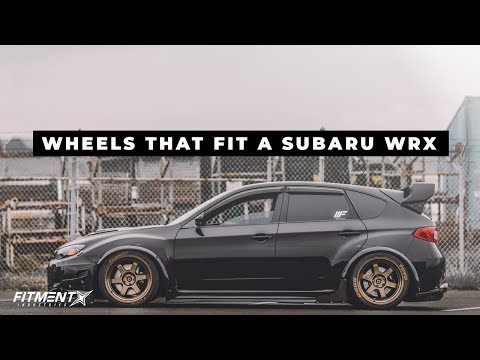 What Wheels Fit : Subaru WRX (2008-2016)