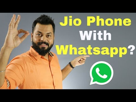 JIO PHONE WILL SUPPORT WHATSAPP & FACEBOOK TOO!