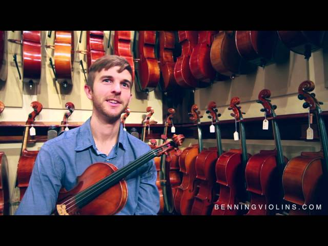 Violinist Alex Granger Discusses Benning Violins