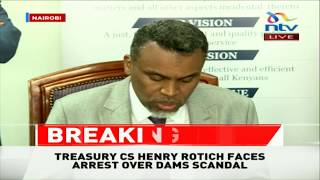 DPP orders arrest of CS Rotich, PS Thuge over Kimwarer, Arror dams scandal