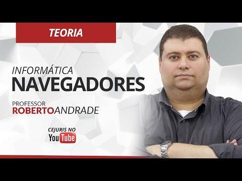 Informática: Navegadores - Professor Roberto Andrade