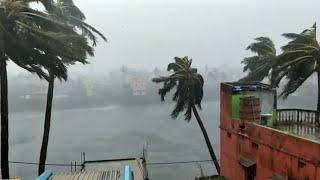 Cyclone Fani hits India's east coast