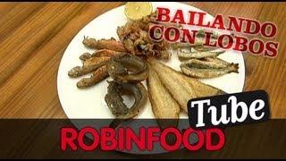 ROBINFOOD / Dry Martini + Ajoblanco + Fritura De Pescado Malagueña