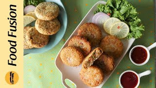 Crunchy Vegetable Cutlets  Recipe By Food Fusion (Ramzan Special Recipe)