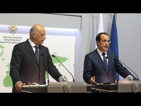 Ν.Δένδιας:Υποστήριξη της Ελλάδας στο αίτημα της Κύπρου για κυρώσεις κατά Τουρκίας …