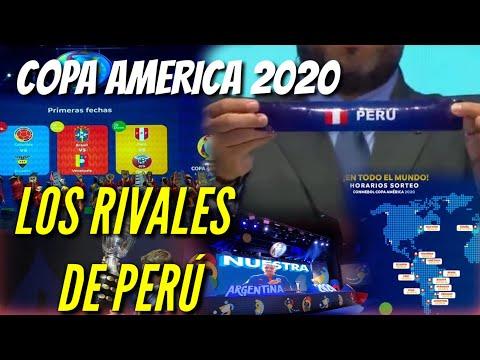 ¡Ultimo! ESTE ES EL PRIMER RIVAL DE PERÚ EN LA COPA AMERICA 2020