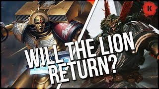 Blood Angels & Dark Angels Codexes Are Coming... But What About The Lion? Or Sanguinius?