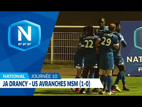 JA Drancy / US Avranches MSM