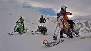 Snowbike Yeti Snowmobile Enduro Extreme Tours - Off Road Zakopane