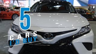5 Cars I'd buy, 5 I wouldn't buy at the Detroit auto show