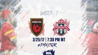 USL LIVE - Phoenix Rising FC vs Toronto FC II 3/25/17
