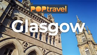Walking In GLASGOW / Scotland (UK) - Centre To Bus Terminal - 4K 60fps (UHD)