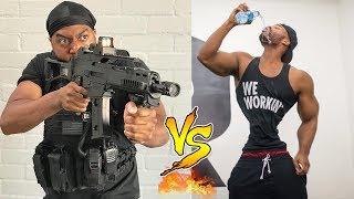 King Bach VS Marlon Webb Instagram Videos   Who is the Winner?