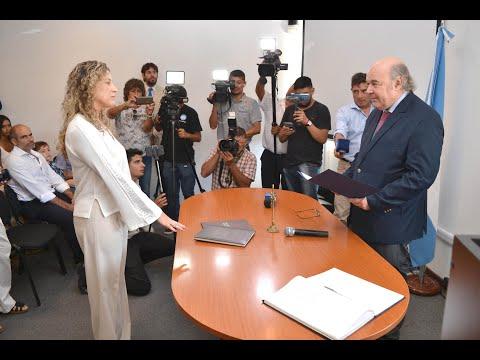 Video: Toma de Juramento de la fiscal María Luján Sodero como directora del CIF