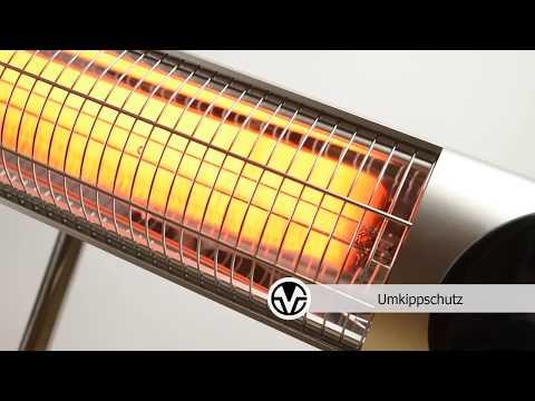 Infrarot Heizstrahler Blade SR 2500 von veito - Produktvideo