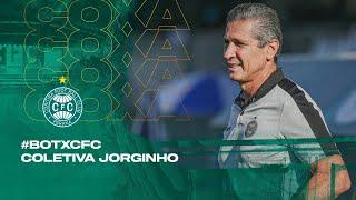 #BOTxCFC - Coletiva Jorginho