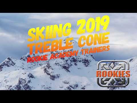 Carving, moguls, powder, free skiing - Rookie Academy Trainers Skiing 2019