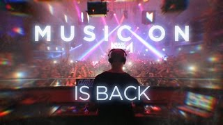 Music On is back  Amnesia Ibiza 2016