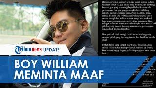 Boy William Klarifikasi Kontennya Picu Kisruh Lesti Kejora dan Siti Badriah: Saling Rukun Damai Ya