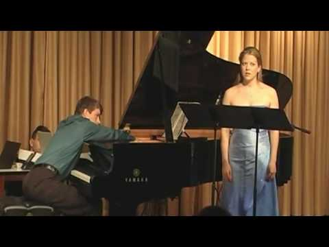Performing George Crumb's Apparition with pianist Timothy Hoft at Yamaha Hall in NYC