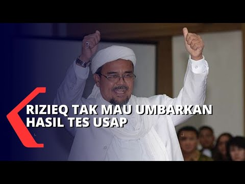 rizieq shihab tidak mau hasil tes usap dipublikasi