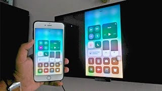 Screen Mirroring with iPhone iOS 11(Wirelessly - No Apple TV Required 2017) HD