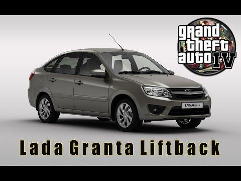 Lada Granta Liftback для GTA IV (60fps) [1080p]