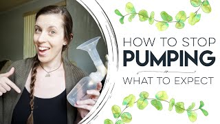 When to stop pumping