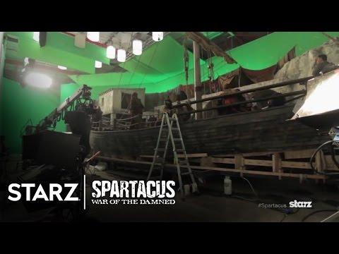 Spartacus Season 3 (Behind the Scene 'The Set')