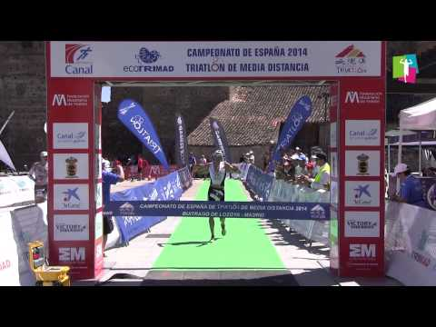 Campeonato de España de Triatlon de Media Distancia 2014
