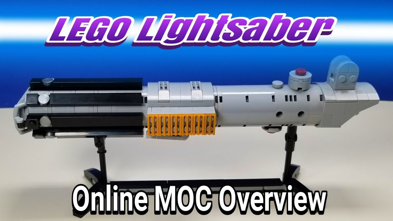 Lego Skywalker Lightsaber - Online MOC Overview