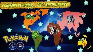 Maractus  - (Pokémon) - ONDE ENCONTRAS OS NOVOS REGIONAIS DE UNOVA! POKÉMON GO COM FAKE GPS 2020!