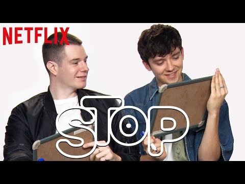 Elenco de Sex Education joga o Stop da Netflix | Netflix Brasil