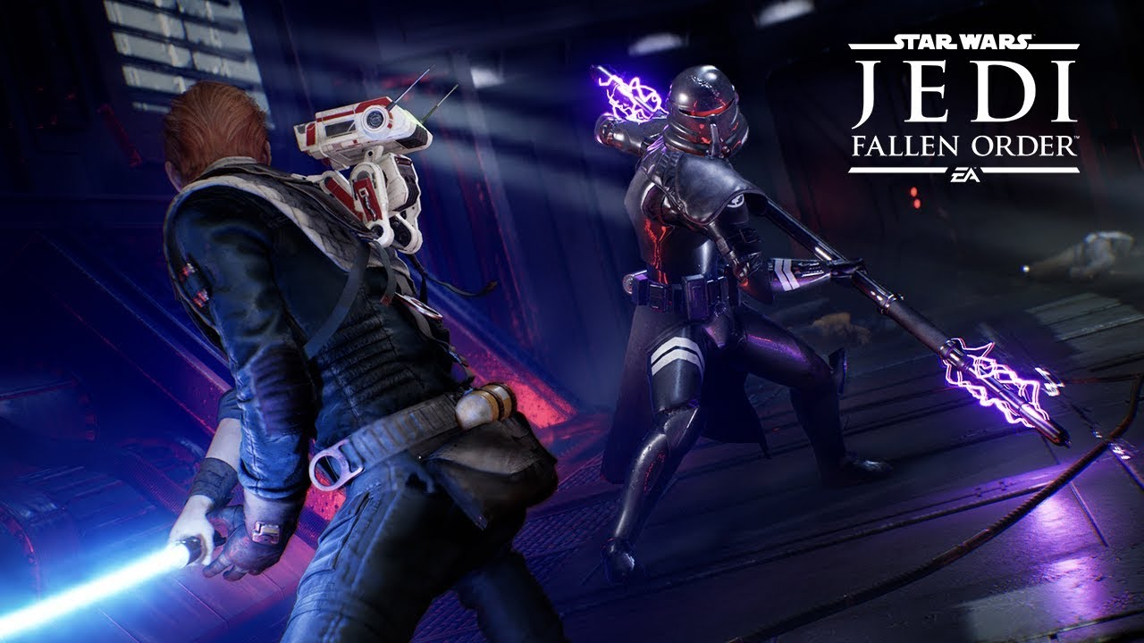 Star Wars Jedi: Fallen Order Extended Gameplay Demo Video