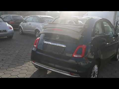Video Fiat 500C Cabrio Lounge Dualogic, Klimaaut.Navi.EU6