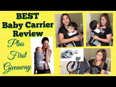 Best Baby Carrier 2018 |Bebamour REVIEW Unboxing + GIVEAWAY