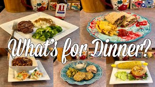 Whats For Dinner| Budget Friendly Family Meal Ideas| August 2020
