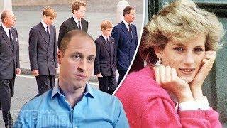 威廉王子向戴安娜王妃许下令人心碎的承诺,发誓要为母正名|卡米拉