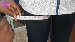 How to Take Pants and Palazzo Measurements