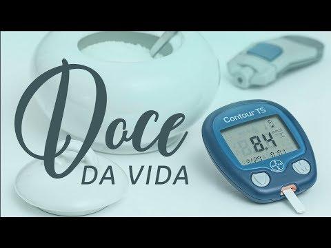 O nível de glucose na diabetes mellitus