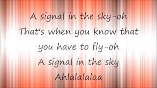 APPLES IN STEREO - Signal In The Sky (let's Go) Lyrics