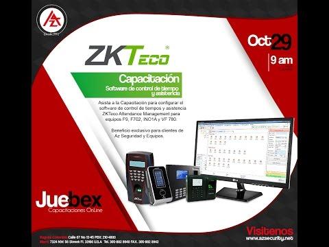 Sistema de Administración para cerraduras Hoteleras ZK Biolock y LH 5000