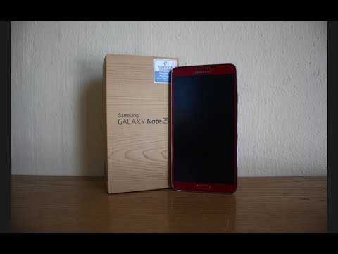 Unboxed: Samsung Galaxy Note 3 32GB (Merlot Red)
