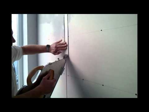 Rigips Fugen verspachteln mit Gewebeband Ames Dry Tape Banjo Silver Cobra