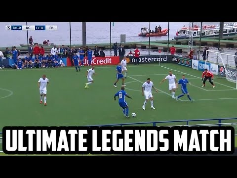 UCL LEGENDS (FULL MATCH)   ft. F2FREESTYLERS FIGO SEEDORF ROBERTO CARLOS & more!