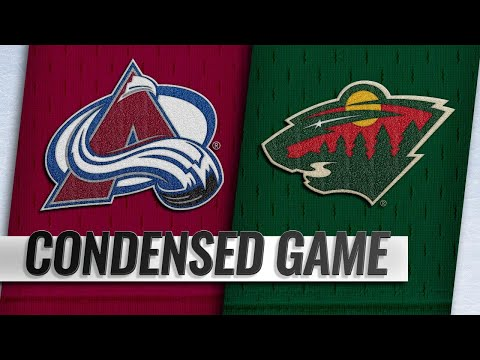 03/19/19 Condensed Game: Avalanche @ Wild