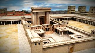 Solomon\'s Temple - 3D Aerial Tour - שלמה מקדש - סיור אווירי