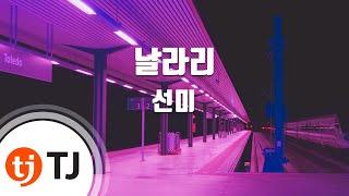 [TJ노래방] 날라리(LALALAY)   선미  TJ Karaoke