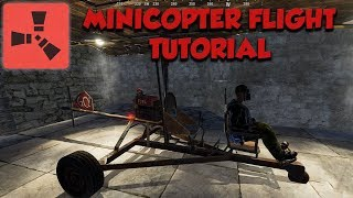 Minicopter Flying Tutorial - Rust
