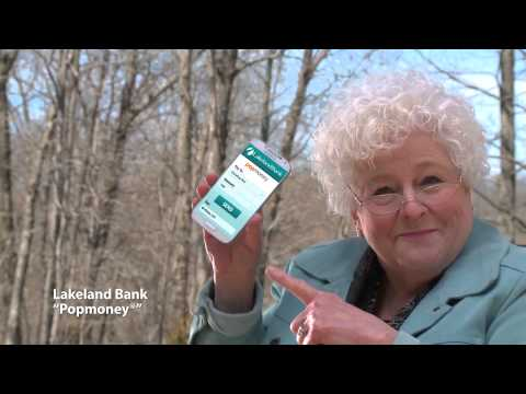 Lakeland Bank Popmoney® Commercial Pay Other People From Your Mobile Device